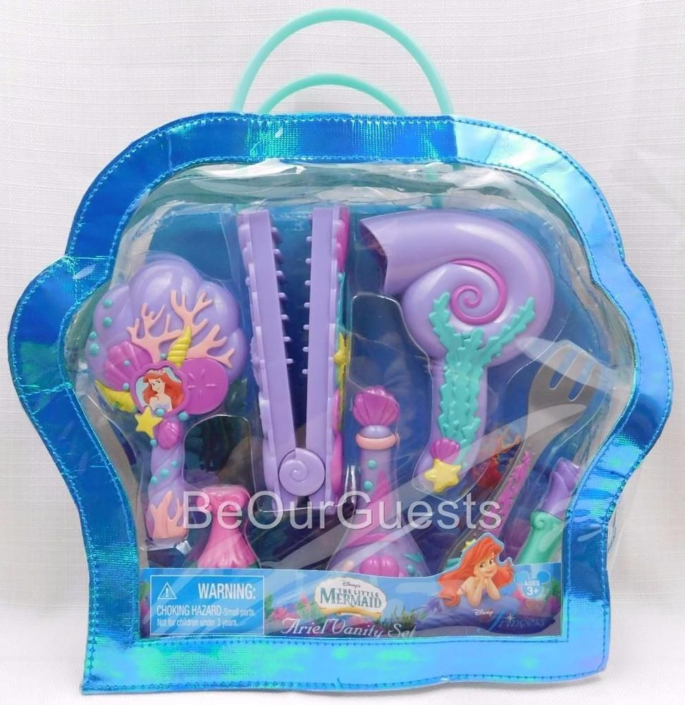 Disney parks ariel little mermaid princess vanity set playset 1000 in collectibles disneyana contemporary 1968 now geotapseo Images