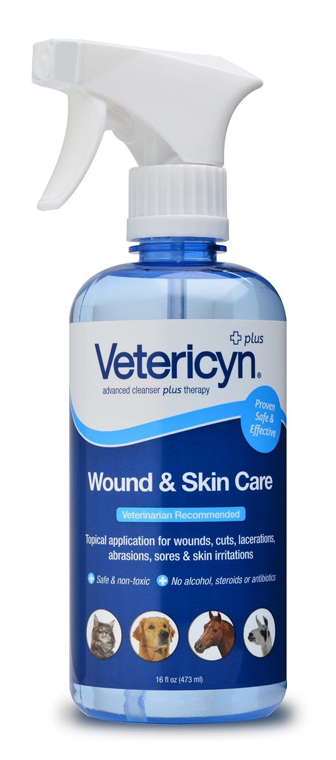 Vetericyn Wound And Skin Care Wound Spray Skin Care Care