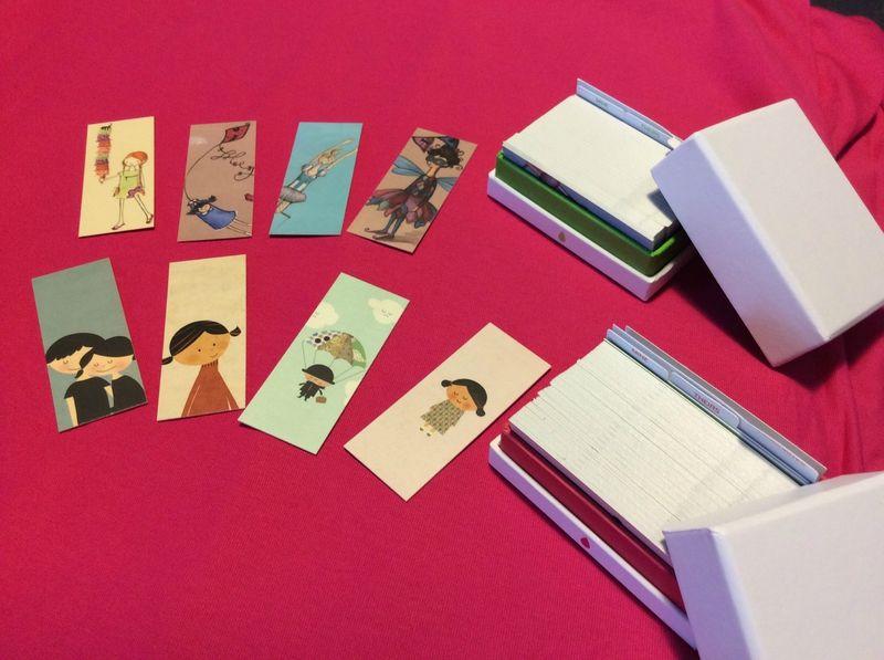 Mes Ptites Cartes De Visites Format Ticket Mtro Trop Mignonnes Chez Moo