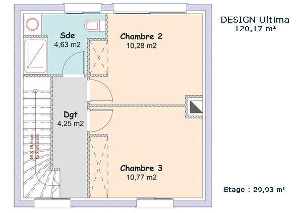 Modèle et plans: Mca - design du constructeur Maisons MCA ...