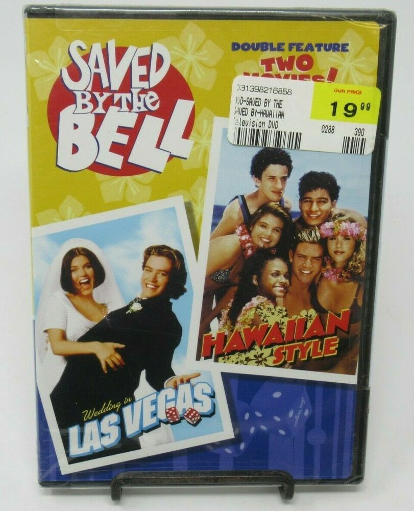 Saved By The Bell Wedding In Las Vegas Hawaiian Style Double Feature Dvd New In 2020 Hawaiian Style Wedding Hawaiian Style Saved By The Bell