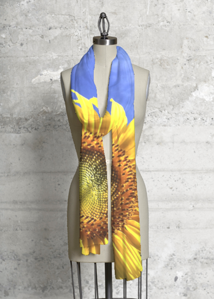 Modal Scarf - the florals green by VIDA VIDA