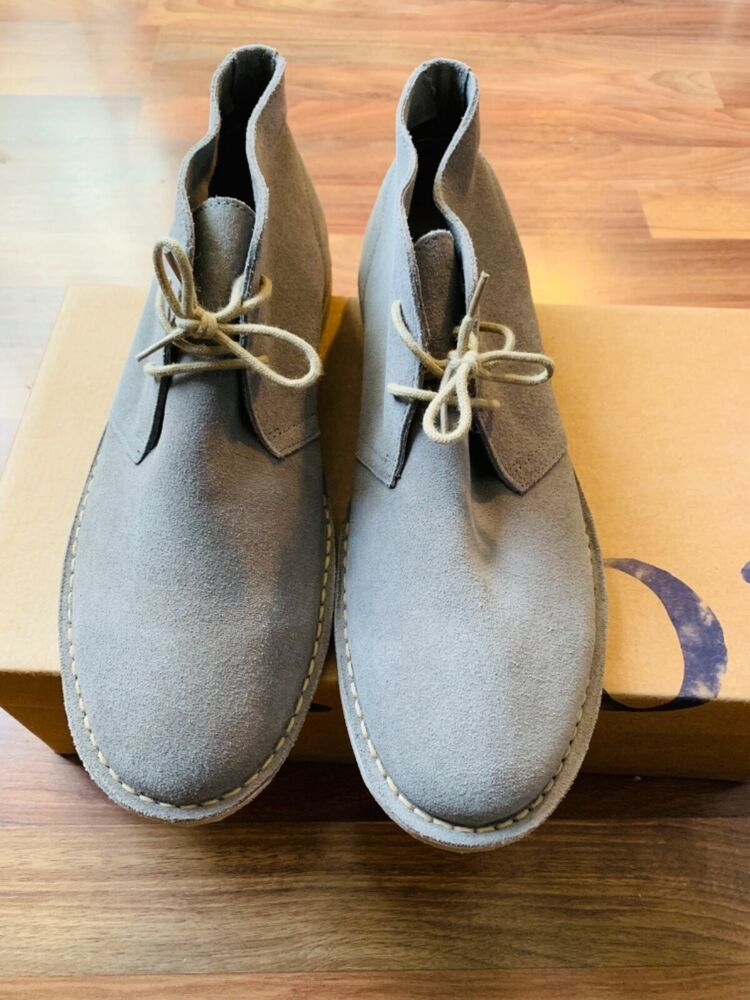 be47c63e237 nordstrom 1901 mens gray suede chukka boots 2-eye lace up size 10.5 MSRP   119.00  fashion  clothing  shoes  accessories  mensshoes  casualshoes  (ebay link)