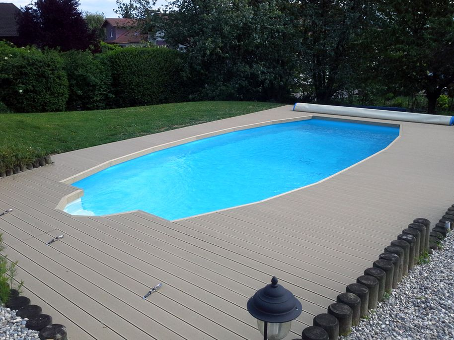 My ProFi Swimming pool decks, Pool deck floor, Cool