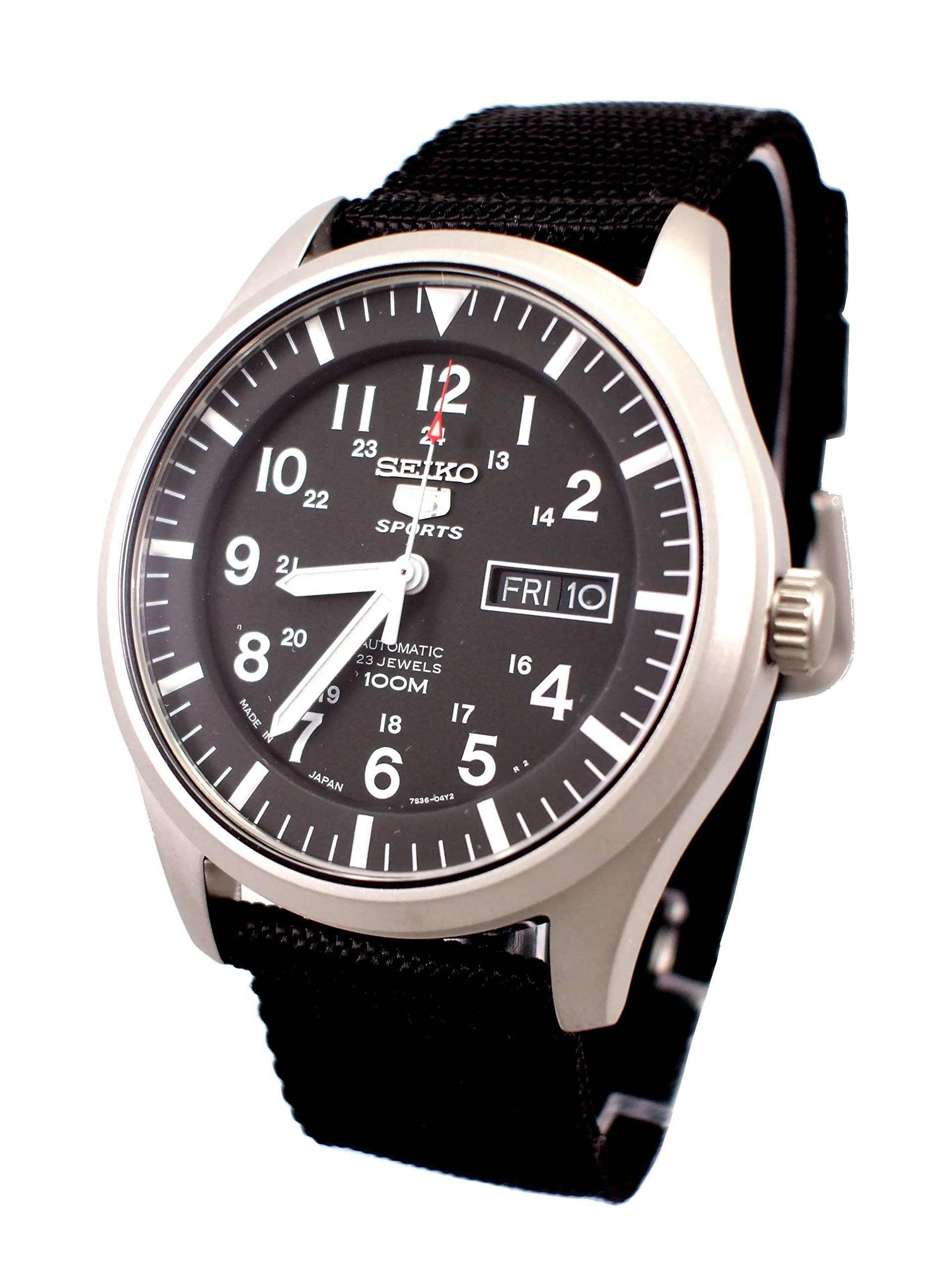 432e3ff33 Seiko 5 Sports Automatic Gents SNZG15J1: Amazon.co.uk: Watches ...