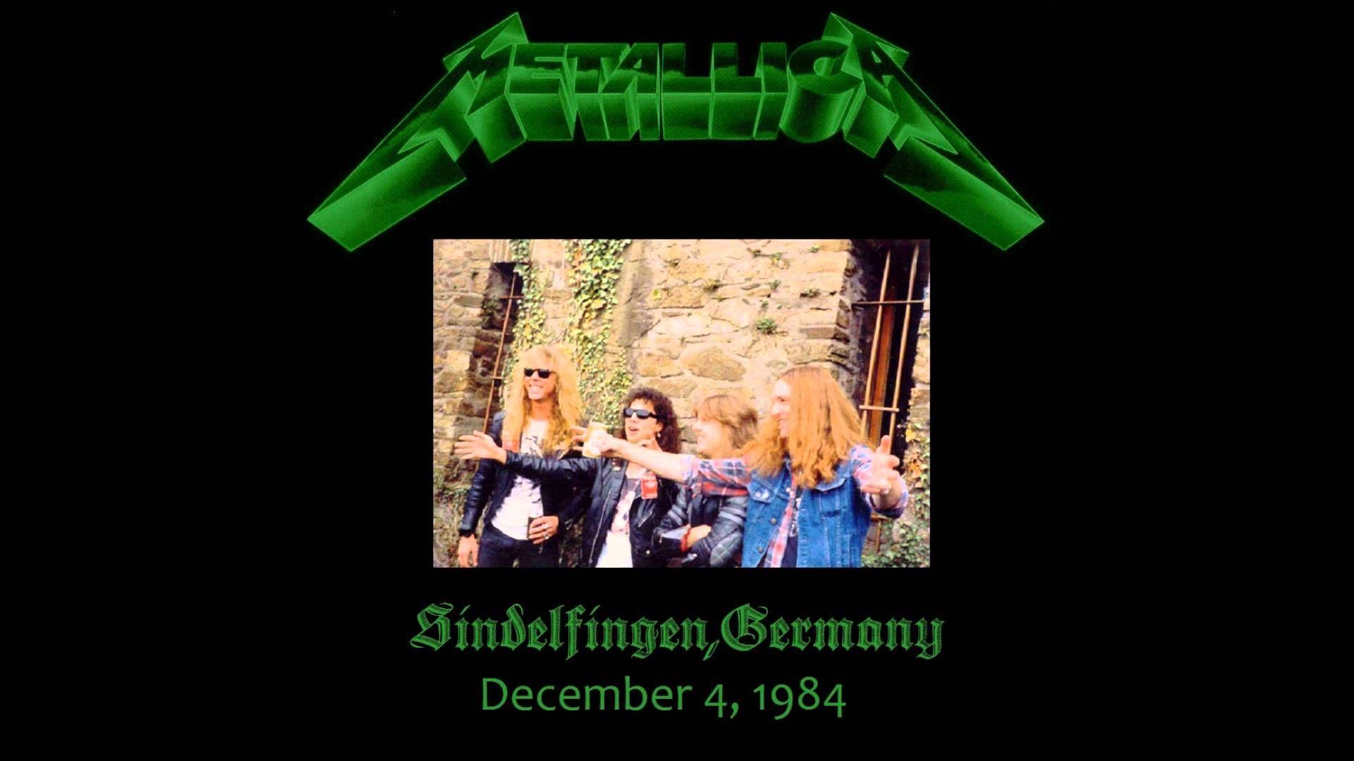 The Call Of Ktulu Dec. 4, 1984 Sindelfingen, Germany.