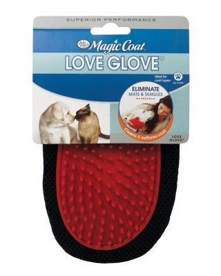 DOG GROOMING - SHEARS/SCISSORS - LOVE GLOVE GROOMING MIT - - CENTRAL - FOUR PAWS PRODUCTS - UPC: 45663970987 - DEPT: DOG PRODUCTS
