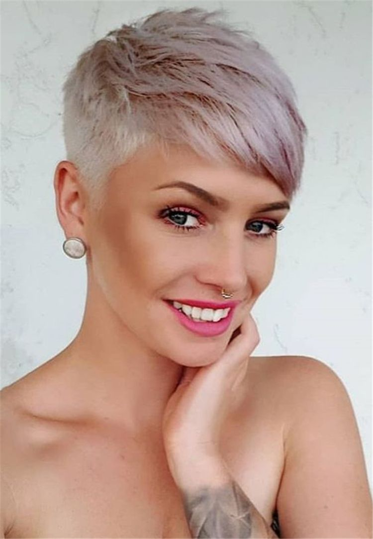 50 sweet and stylish short pixie haircuts or hairstyles