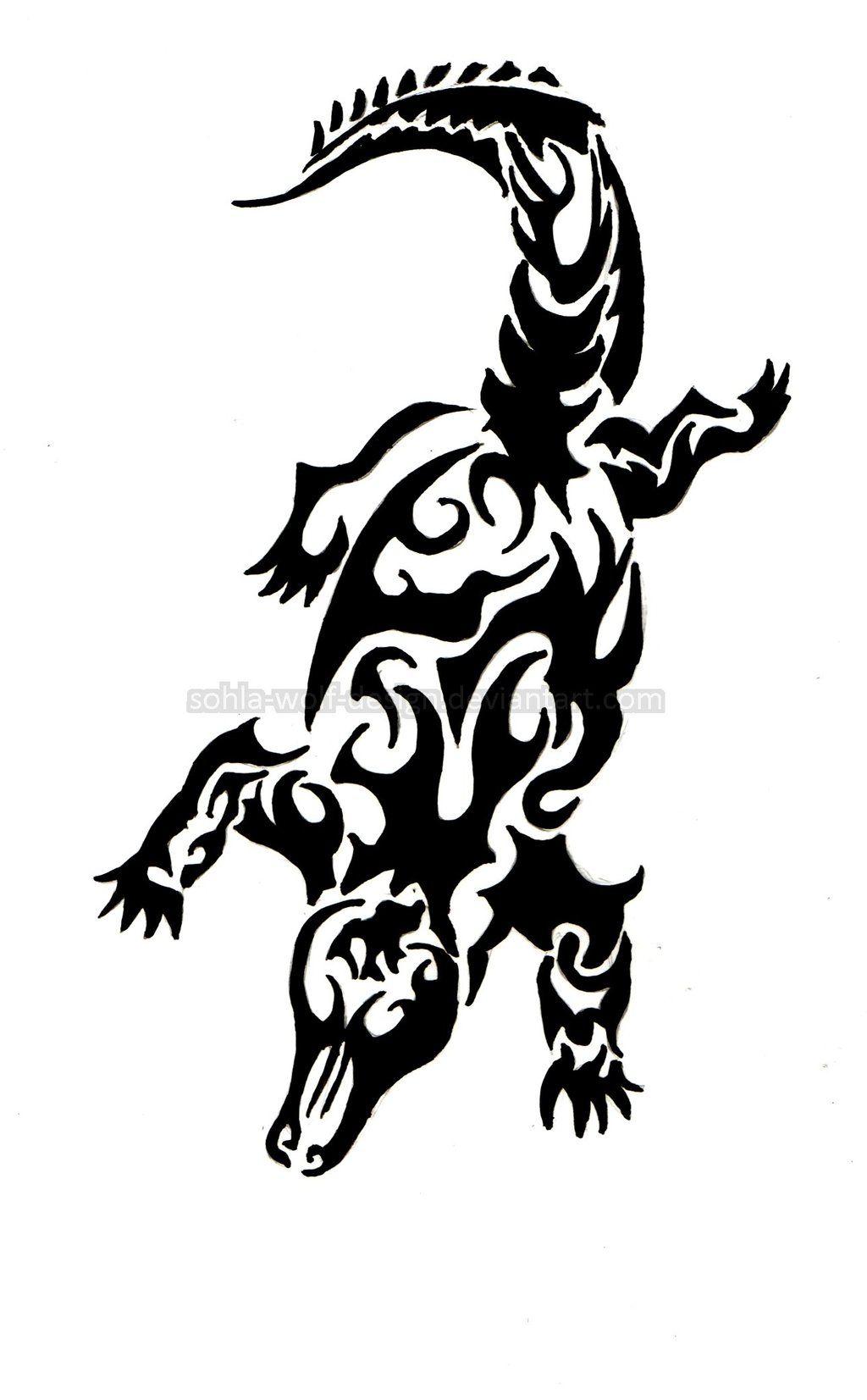 f6b5be5105d78 Alligator Tattoo, Weird Tattoos, Tribal Tattoos, Maori, Tatoo Designs,  Pyrography Ideas, Crocodile, Brewery, Vectors