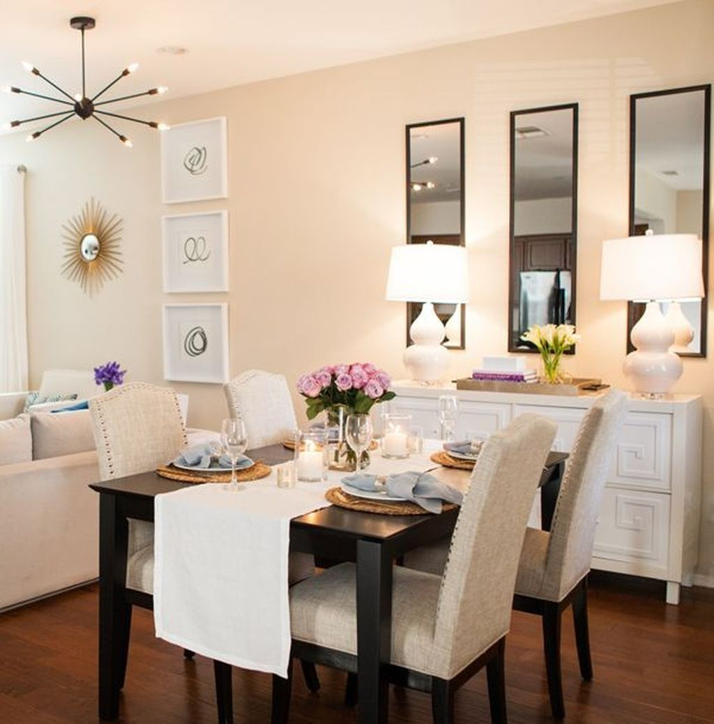 48 Awesome Wall Mirror Design Ideas For Dining Room Apartment