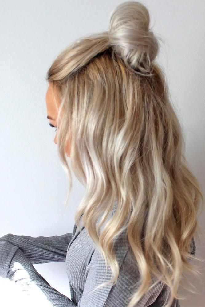 28 pretty and easy hairstyles for work  secrets of