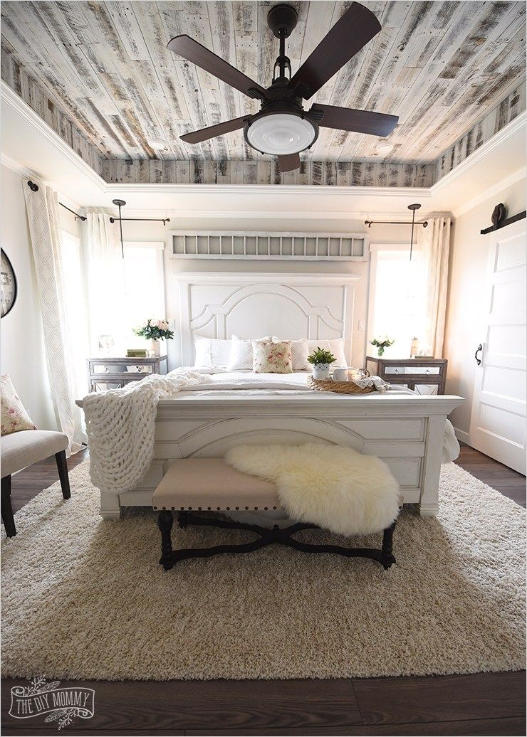 43 Stunning Country Farmhouse Bedroom Ideas 35 Our Modern French Country Ma French Country Master Bedroom Farmhouse Style Master Bedroom Country Master Bedroom