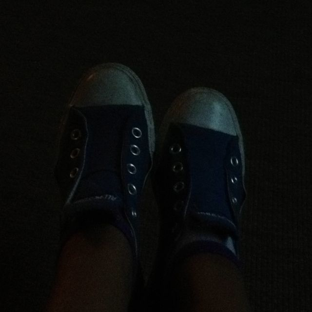 A shoe! Hahahahahahahaahahaaha Don't u get it