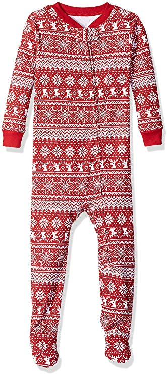 Essentials Kids Baby and Toddler Zip-Front Footed Sleeper