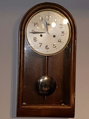 Reloj De Péndulo Para Pared Años 60 Reloj De Péndulo Relojes De Pared Antiguos Relojes De Pared