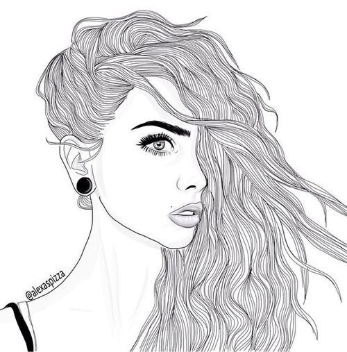 This is a drawing of a girl its not from me its from the