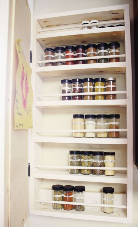 How To Build A Spice Rack How To Build A Diy Spice Rack  Pinterest  Diy Spice Rack Wood
