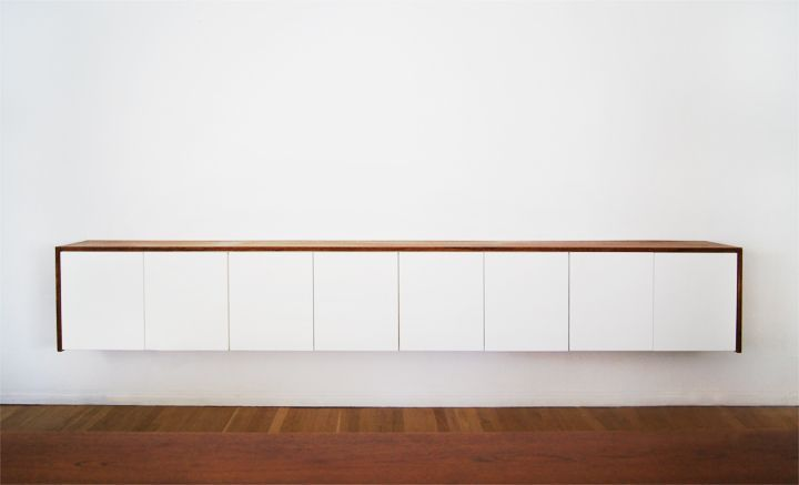 Ikea Credenza Tv Stand : Lowboard für wz ikea holzplatte diy hanging foot credenza