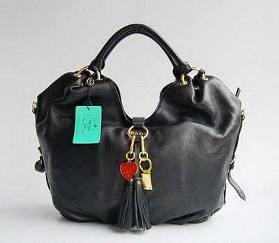 Prada 69521 Fashionable Style Ladies Bag-Black