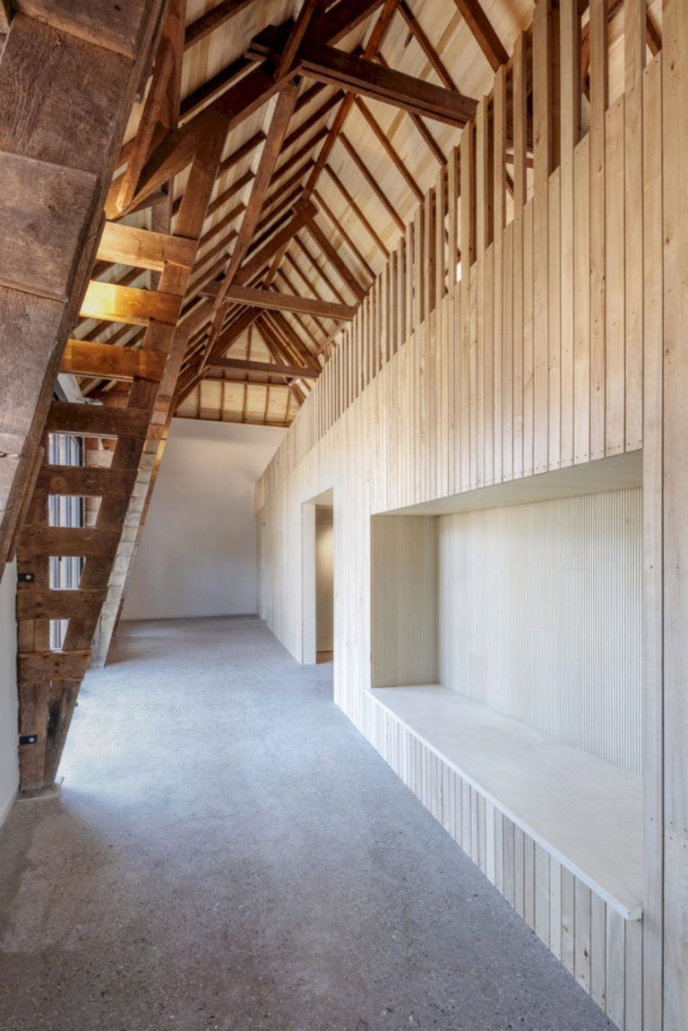 Romeins Halder Museum From A Barn At A Historical Estate Architecture Museum Interior Timber Architecture