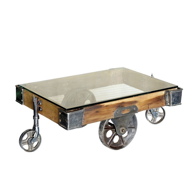 Factory Cart Coffee Table Urban Vintage From Andy Thornton Coffee Tables