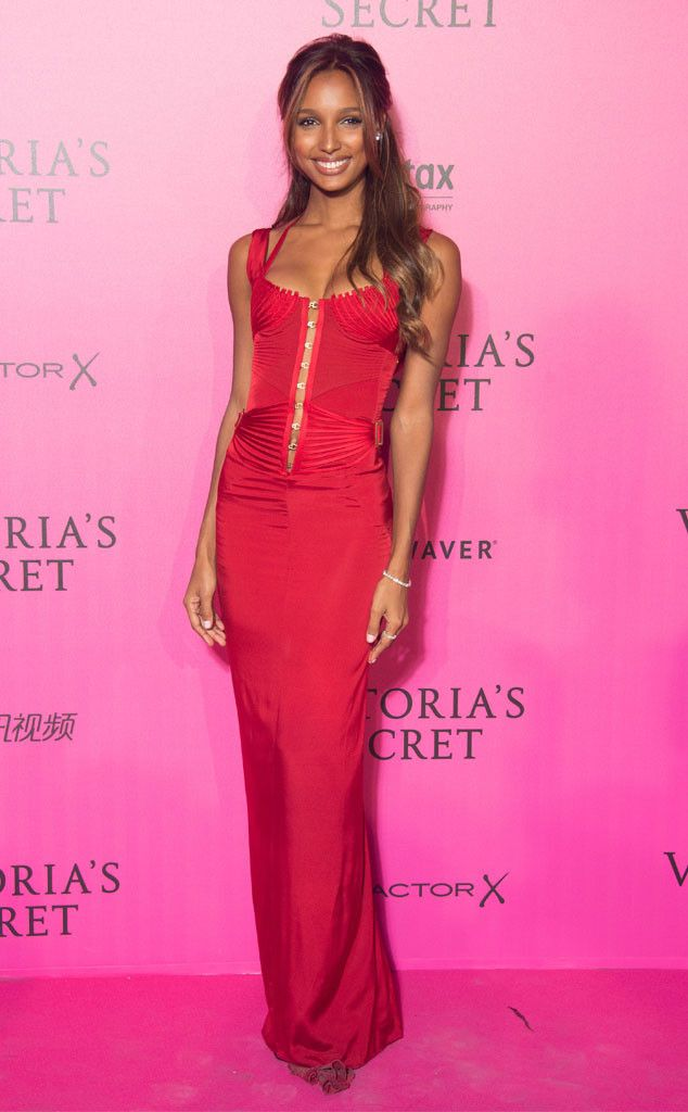 9d9f2898ec Jasmine Tookes from Victoria s Secret Fashion Show 2016 Pink Carpet ...