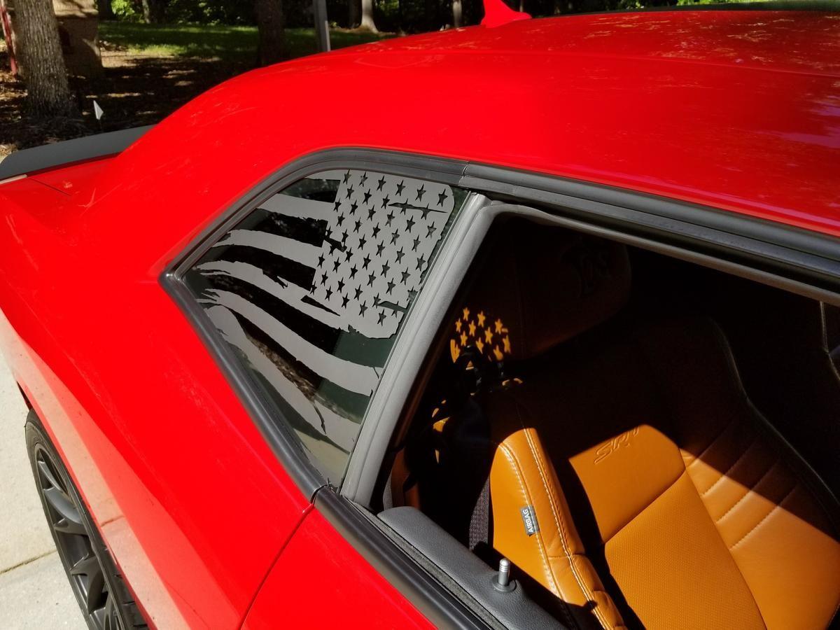Product 2 Dodge Challenger Window Vinyl Decal Graphic