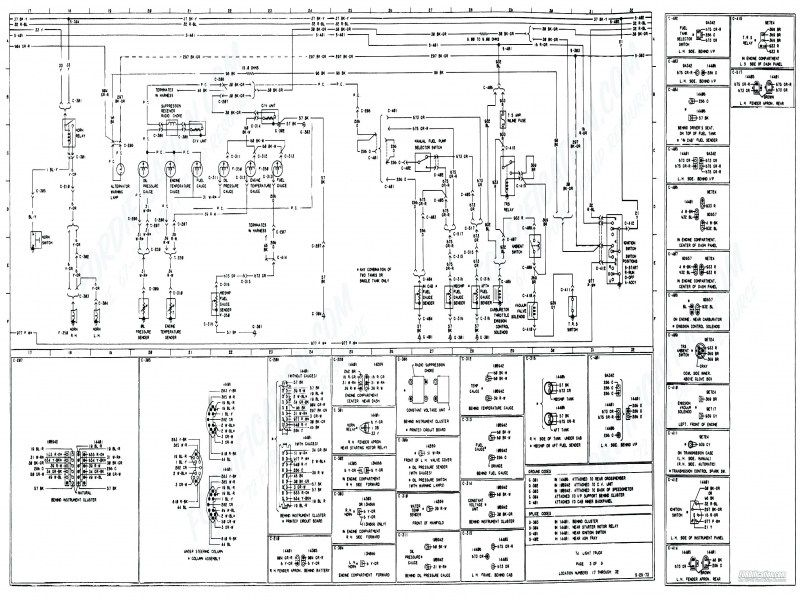 image result for 1979 chevy truck fuse box diagram | 1979 ford ...  pinterest