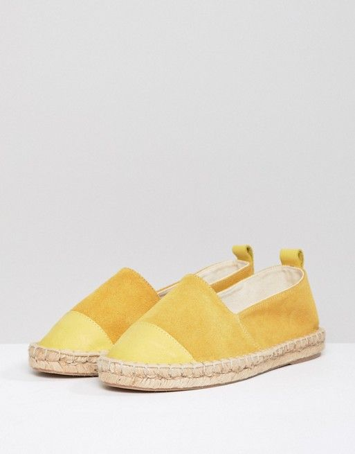 ASOS DESIGN espadrilles in yellow release dates authentic high quality buy online for sale wholesale price cheap largest supplier cheap sale best wholesale 3XFEJrtr