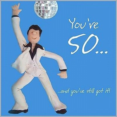 Fun 50th birthday card quality disco mens card 50 and youve still fun 50th birthday card quality disco mens card 50 and youve still got it bookmarktalkfo Image collections