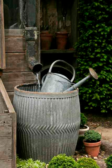 Beautiful Rain Barrel Ideas For Rainwater Harvesting Green Living Sustainable Living