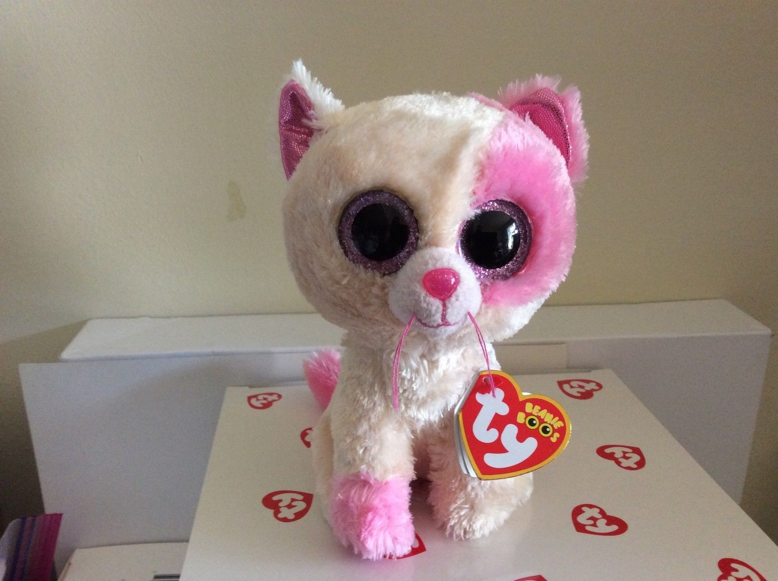 379372de226 Current 438  Ty Beanie Boo Anabelle The Cat Barnes And Noble Exclusive 6  Mwmt -  BUY IT NOW ONLY   18.99 on  eBay  current  beanie  anabelle  barnes   noble ...