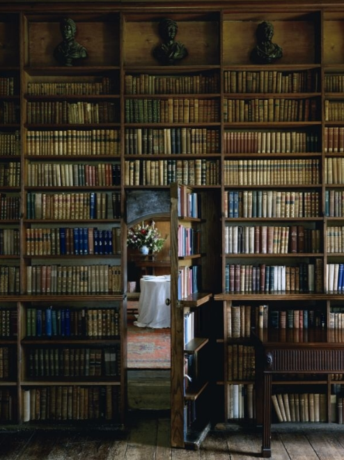 The others have just been small bookshelves, but this one is a massive library secret door with tons of move disguising the door opening that leads to a new room. Description from fadoonews.com. I searched for this on bing.com/images