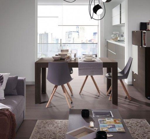 Sillas para largas sobremesas. silla lisboa con patas de madera ...