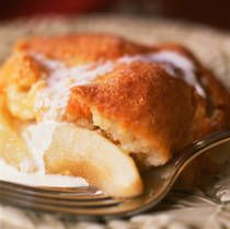 Easy Pear Cobbler I use 1-1/2 cups of sugar. 2 cups is way too sweet!