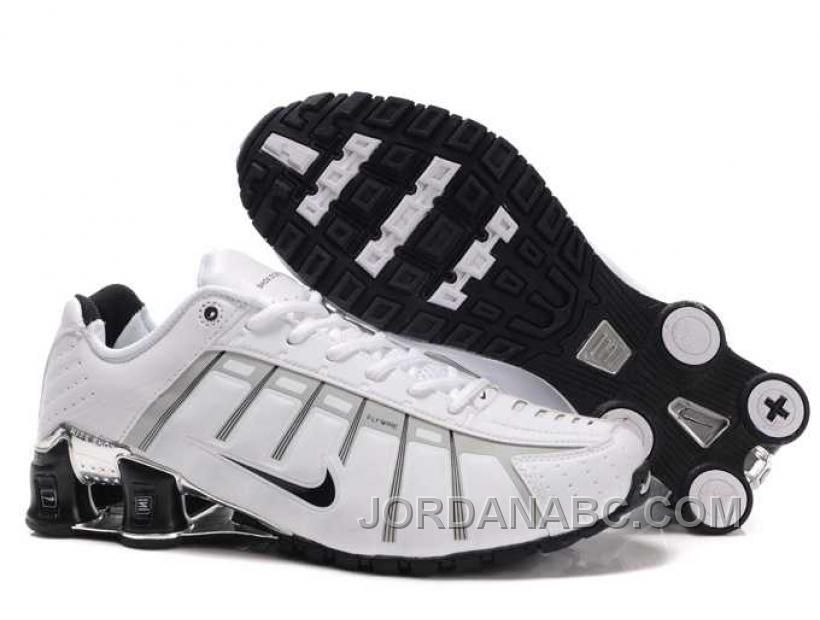 New Nike Shox NZ 3 Shoes Black White
