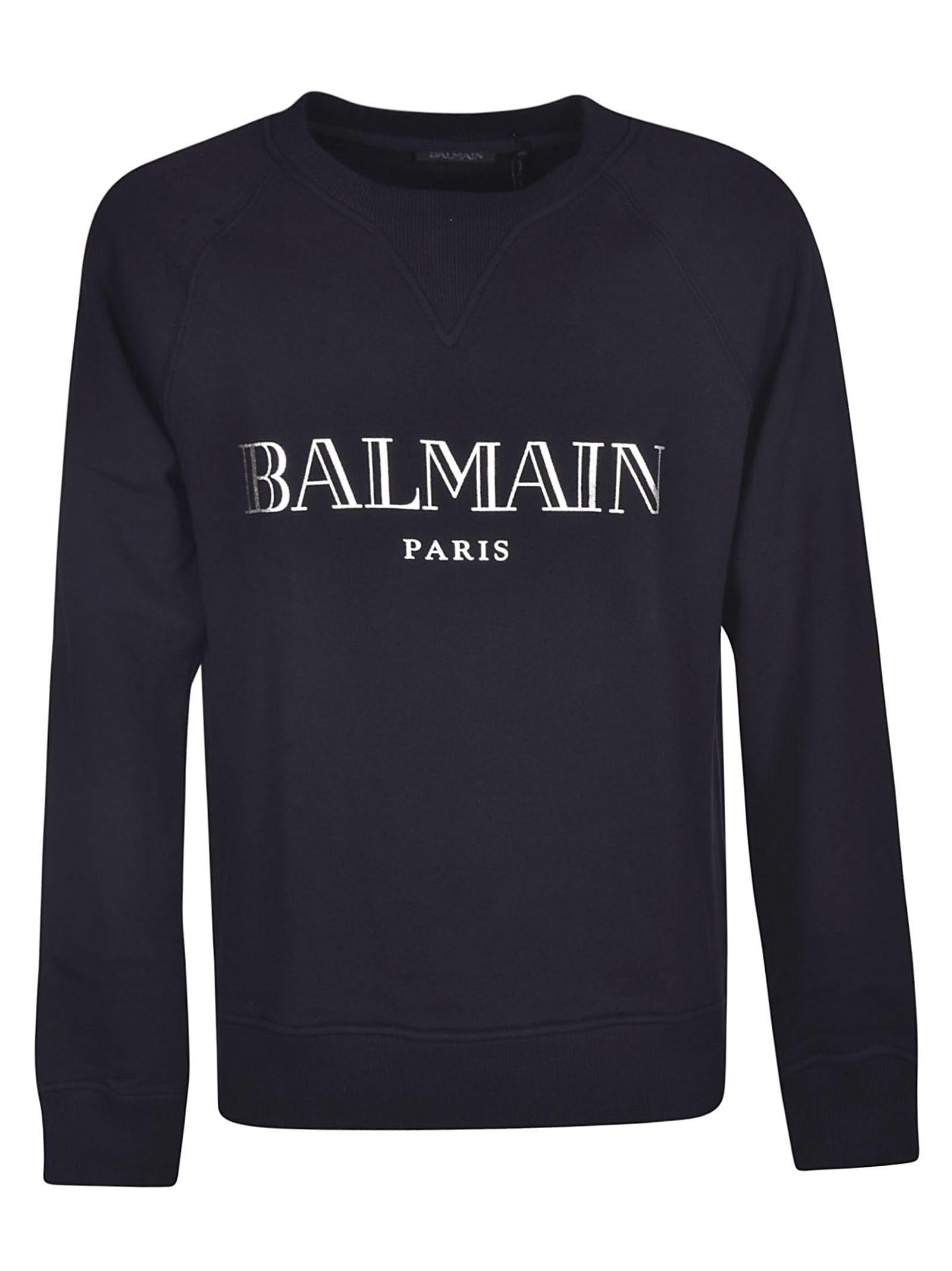 fd9336f6 BALMAIN LOGO SWEATSHIRT. #balmain #cloth | Balmain in 2019 ...
