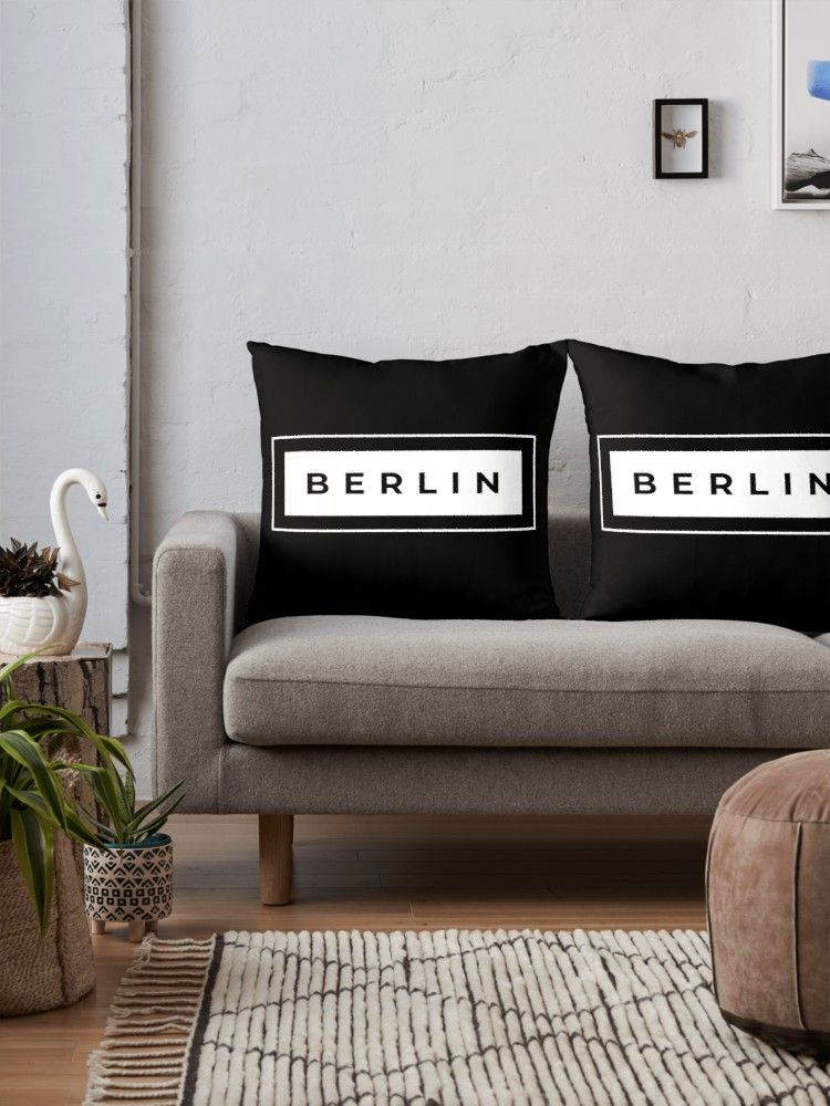 Berlin Capital Of Germany Throw Pillow