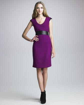 e0ba82b2 Diane von Furstenberg Ronaldo Belted Dress - Neiman Marcus | work ...