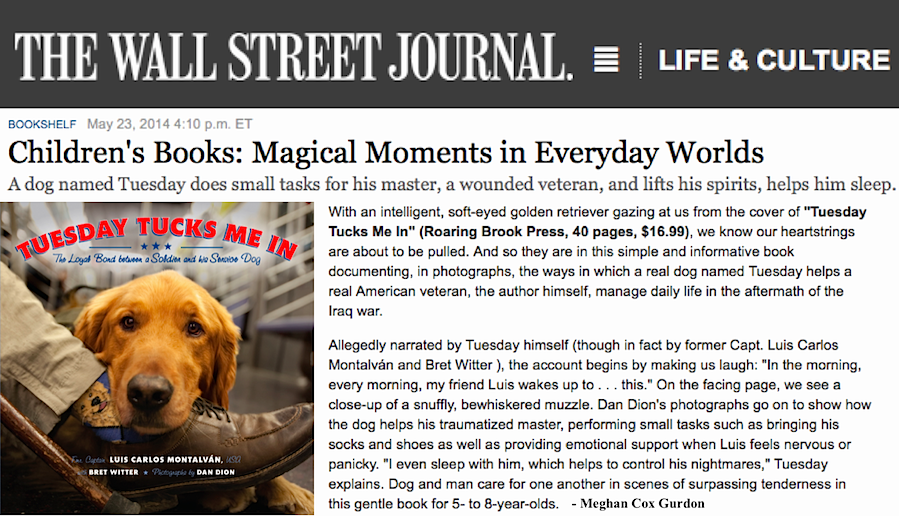 wall street journal book review tuesday tucks me in on wallstreetjournal id=40758