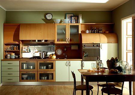 cucina color ciliegio e panna le pareti? - Cerca con Google ...