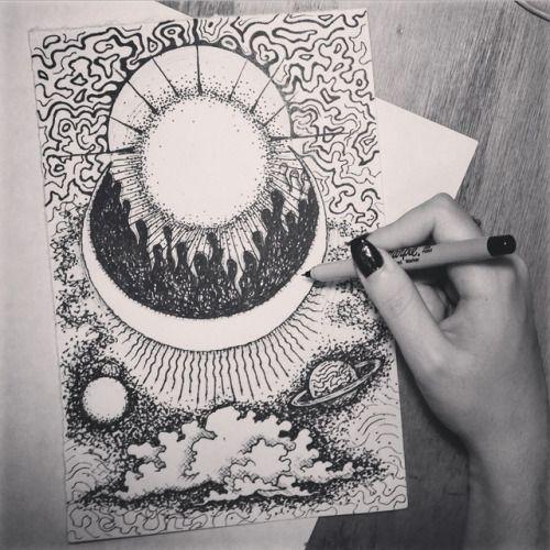 Grunge Art Tumblr Sketch Pesquisa Do Google Desenhos Arte Negra Fazer Uma Tatuagem Ilustracoes