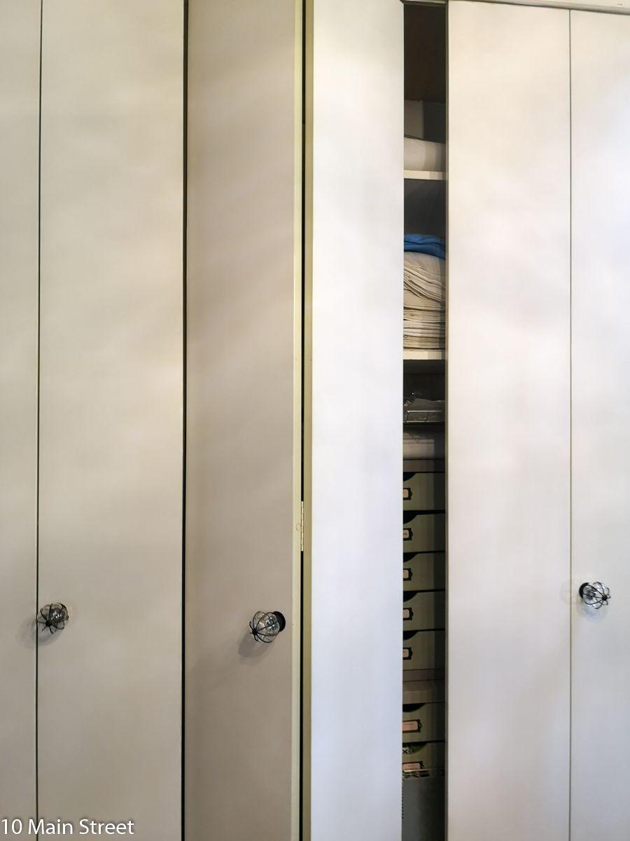 Tapisser Porte De Placard portes accordéon : un relooking simple | porte placard
