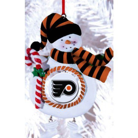 Amazon.com - Philadelphia Flyers Jolly Snowman Christmas Ornament - Amazon.com - Philadelphia Flyers Jolly Snowman Christmas Ornament