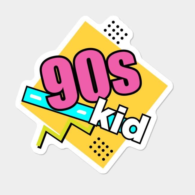 90s Kid Funny Logo Men S Perfect Tee By Carolsalazar Design By Humans Funny Logo 90s Kids Retro Kids