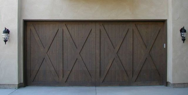 Rustic Style, Barn Style Garage Doors By A And J Garage Doors