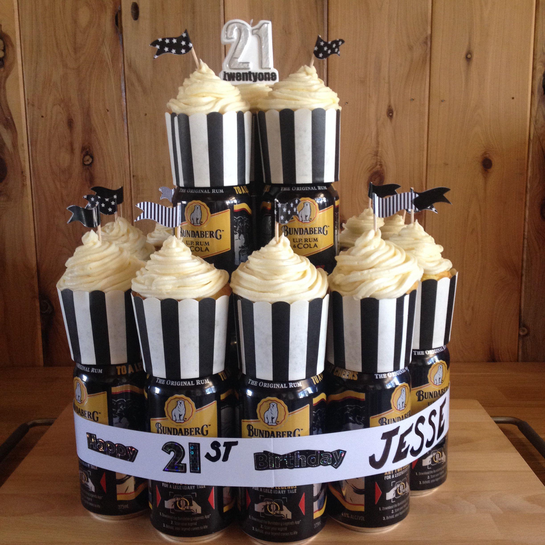 Bundy Rum Cake Decorated