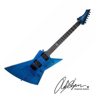 chapman ghost fret guitar satin blue with case chapman guitars in 2019 guitar music. Black Bedroom Furniture Sets. Home Design Ideas