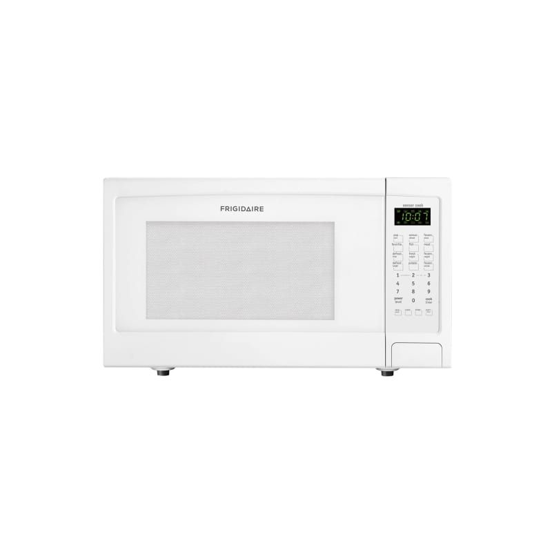 Frigidaire Ffmo1611l 1 6 Cubic Foot Countertop Microwave With Easy Set Start And White Microwave Ovens Microwave Countertop Cubic Foot Microwave White Microwave