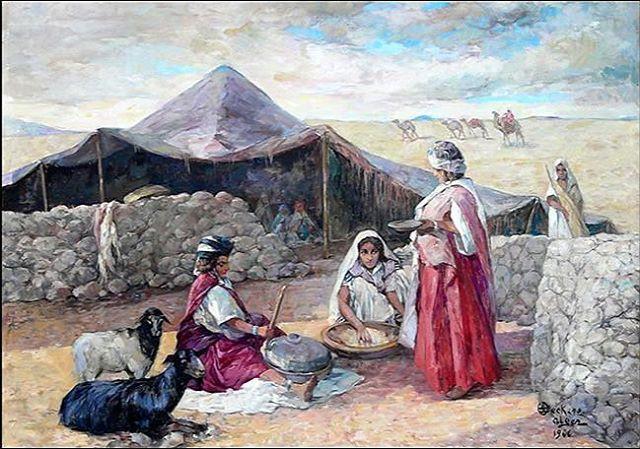 Photo of تخييم في الخلاء Camp in der Wüste Émile Deckers, Pein …